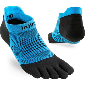 Injinji Run Lightweight No Show Socks Men, malibu